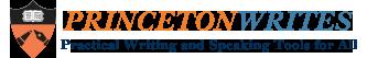 Princeton Writes Logo